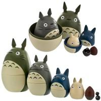Boneka Matryoshka Studio Ghibli My Neighbor Totoro