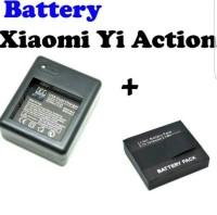 Baterai Xiaomi Yi & Dual Charger Baterai Cadangan