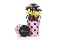 BH Cosmetics -  11 pcs Pink-A-Dot Brush Set