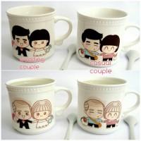heat changing mug couple (casual/wedding)