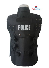 Vest Rompi Body Protector Motor POLICE / SWAT Turn Back Crime Funcover