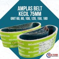 Kertas Amplas untuk Mesin Belt Sander ukuran Kecil 75 mm