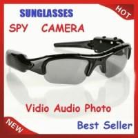 Kacamata Kamera / Spy Cam Kacamata Sunglass Hitam