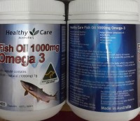 Healthy Care Omega 3 Fish Oil 1000mg 400 Kapsul Made In Australia