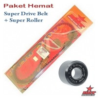 Paket Super Roller & V Belt BRT Yamaha X-Ride
