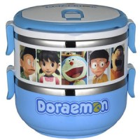 Doraemon Stainless Steel Lunch Box 2 Layer