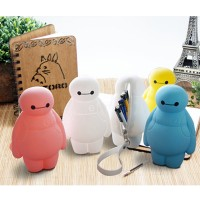 Boneka Baymax Tas Pensil / Baymax Pencil Bag / Big Hero / Tas Baymax