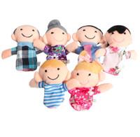 Boneka Jari Family Keluarga Isi 6PCS