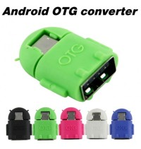 Cable USB OTG Robot ( 7 Colours) BEST SELLER