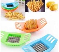 Pottato Cutter Pemotong Kentang Praktis potato slicer french fries