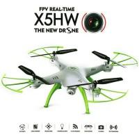 PromOngkir 1KG! SYMA X5HW Drone Camera 2MP WIFI FPV AltitudeHold-White