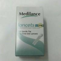 Jarum bekam 21G /Lancet medilance 21G
