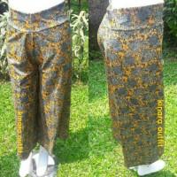 celana kulot motif/kulot pants/bawahan muslimah