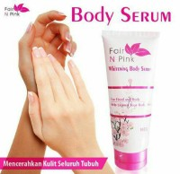 FAIR N PINK WHITENING BODY SERUM 160ML