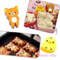Bento Rilakkuma Bread Cookie Cutter