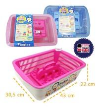 Puku Nursery Container Drying Rack rak botol susu / tempat botol bayi