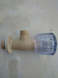 "keran shower pvc vino / kran sower plastik vino 1/2"""