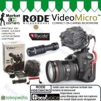 RODE Microphone VIDEOMICRO for SLR/DSLR Camera, Smartphone, Mirrorless