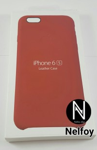 harga Iphone 6 / 6s leather case red original design by apple hard soft Tokopedia.com