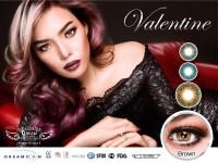 ORIGINAL Softlens Dreamcon  Dream Color Valentine Brown (Coklat)