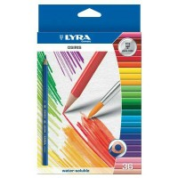 Pensil warna 36 Osiris aquarell Lyra very nice