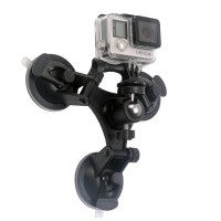 3 Feets Triangle Stable Car Suction Cup Xiaomi yi gopro s