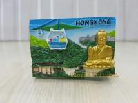 SOUVENIR TEMPELAN MAGNET KULKAS HONGKONG CHINA