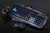 KEYBOARD+MOUSE GAMING WARWOLF KM-780/keyboard gaming/gaming keyboard