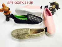 spt003tk sepatu anak anak perempuan luofu sepatu anak import casual