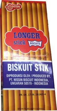 Nissin Biskuit stick biskuit stik original Longer Stick Biscuits
