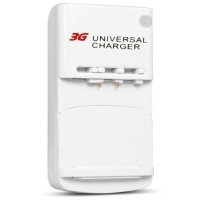 Charger Universal (Desktop) - Smart Battery Charger with USB Port for