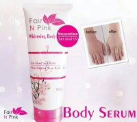 FAIR N PINK BODY SERUM 160ML / FAIR N PINK WHITENING BODY SERUM 160ML