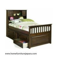 tempat tidur anak berlaci jati, tempat tidur anak berkualitas