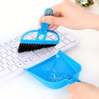Keyboard Cleaning Brush - Mini Set Sapu Pengki Kebersihan Multi Fungsi
