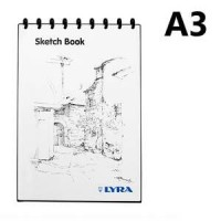 Buku Sketsa /Sketch book A3 LYRA the best