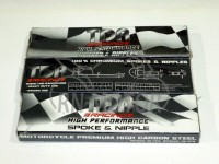 Jari-Jari/Ruji Velg TDR 9/10x 164 Carbon Steel Chrome