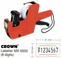 Alat Label Harga Price Labeller Crown Mx-5500