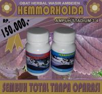 HEMMORHOIDA OBAT HERBAL WASIR