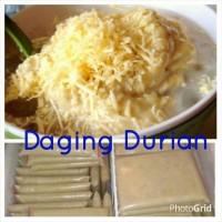 Daging durian medan frozen (tanpa biji)