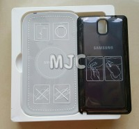 S Charger Kit Samsung Galaxy Note 3 wireless charger + Backdoor Black