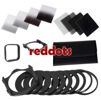 Complete Filter Set Square Nd Gnd 2 4 8 16 tipe cokin P Rings Hood