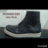 Sepatu Dondhicero Aztec Boots Kulit Gaya Pria Original