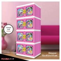 Lemari Plastik - Kabinet Naiba tipe My Little Pony 8734 XP