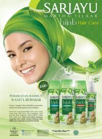 Paket Hijab Sariayu (4 Macam Hair Care) dalam Tas Cantik
