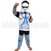 Baju Anak Kostum Topeng Superhero Star Wars Stormtrooper