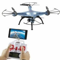 drone Syma X5HW FPV Wifi Camera with led light murah