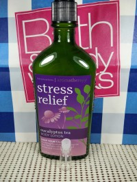 #TESTER# STRESS RELIEF EUCALYPTUS TEA (BODY LOTION) BBW