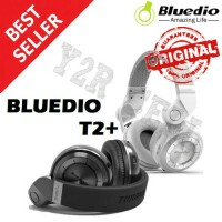 Bluedio T2+ Turbine Hurricane Headphone Bluetooth FM micro sd