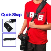 Quick Rapid Camera Sling Strap Black