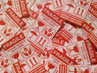 Sticker/stiker/Fragile/Jangan Dibanting/Please Handle With Care